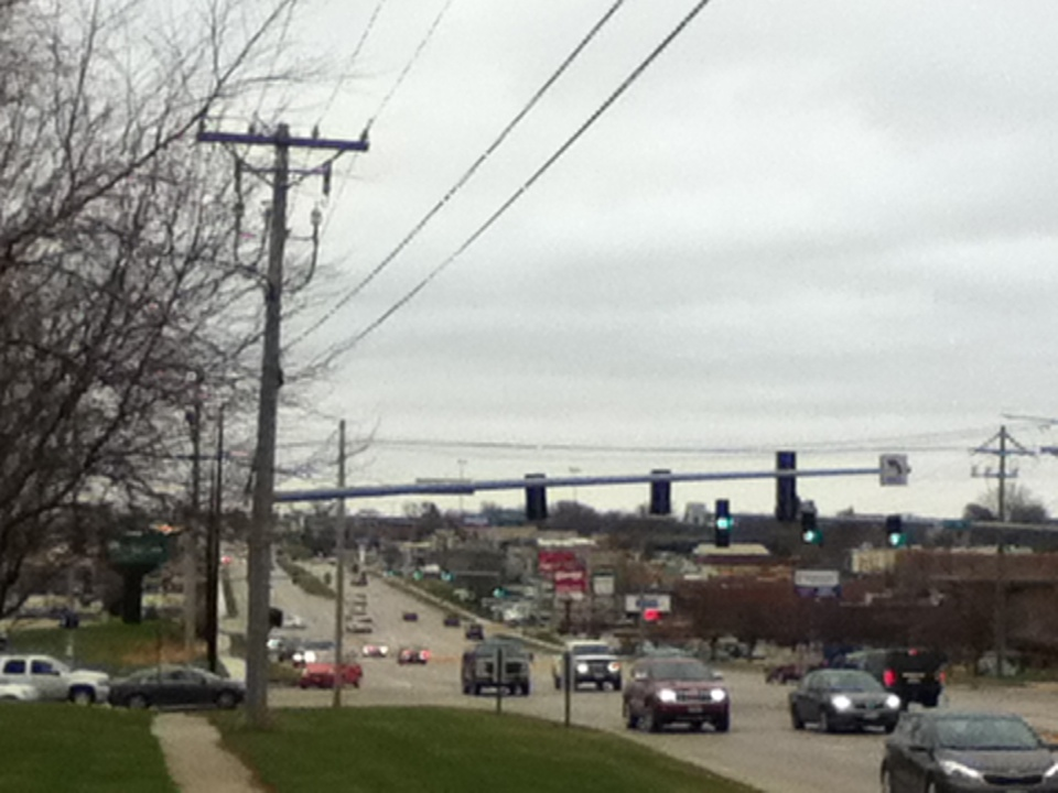 Edgewood Rd looking north from 29th Street