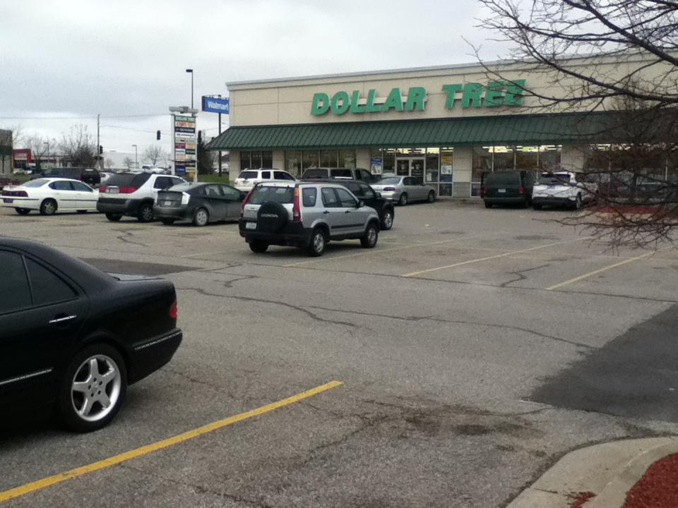 Plenty of parking at the strip mall next door