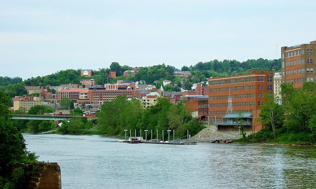 Morganton, WV. (Image from  Wikimedia )