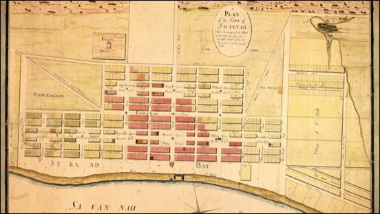 "Savannah, Georgia: ""Oglethorpe Plan"""