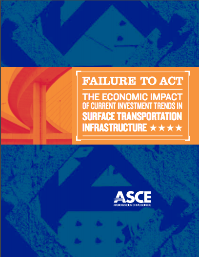 The cover of the  ASCE report .