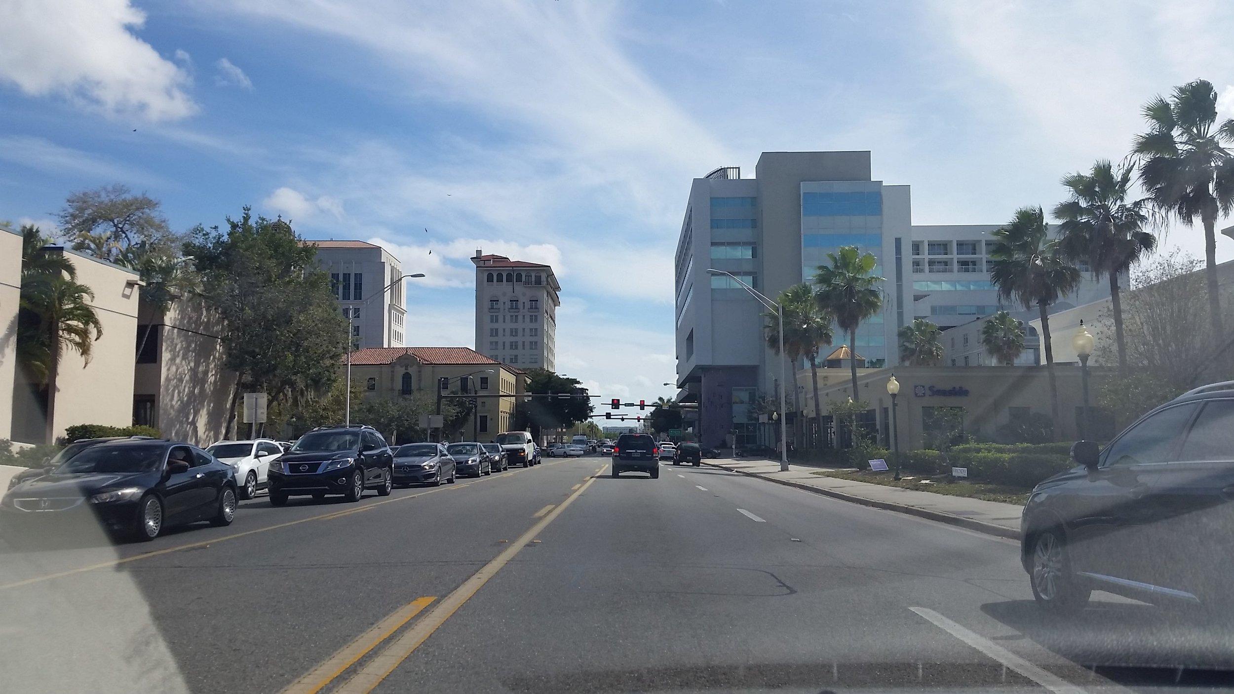 Route C: Washington Boulevard (US Highway 301)
