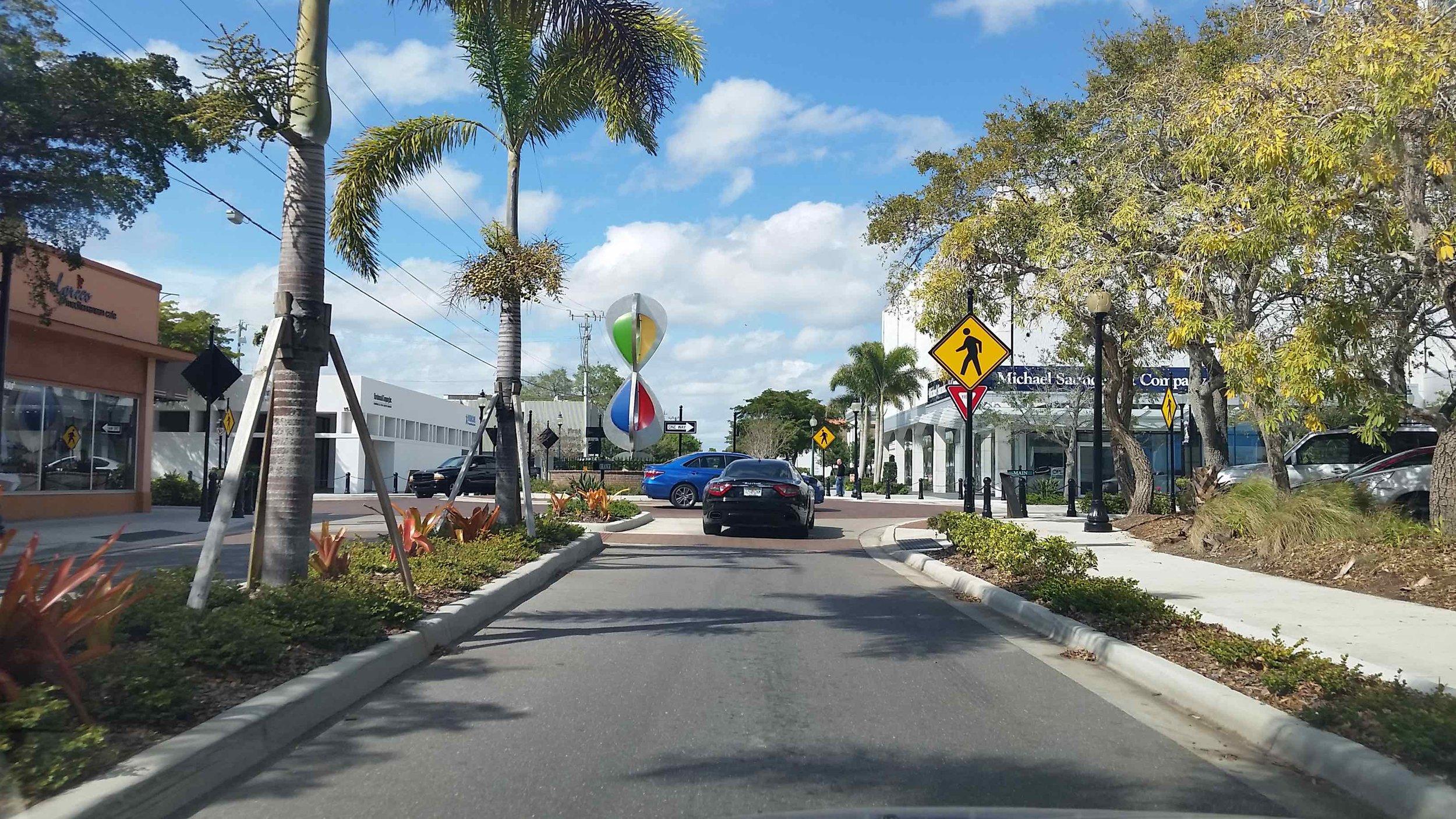 Route D: Orange Avenue