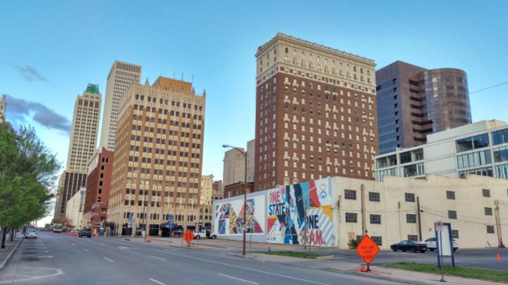 Tulsa downtown.Source: Mike Christiansen