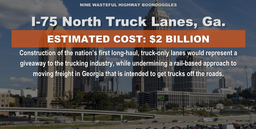 Click to view larger. (Graphic from Highway Boondoggles 3 report)