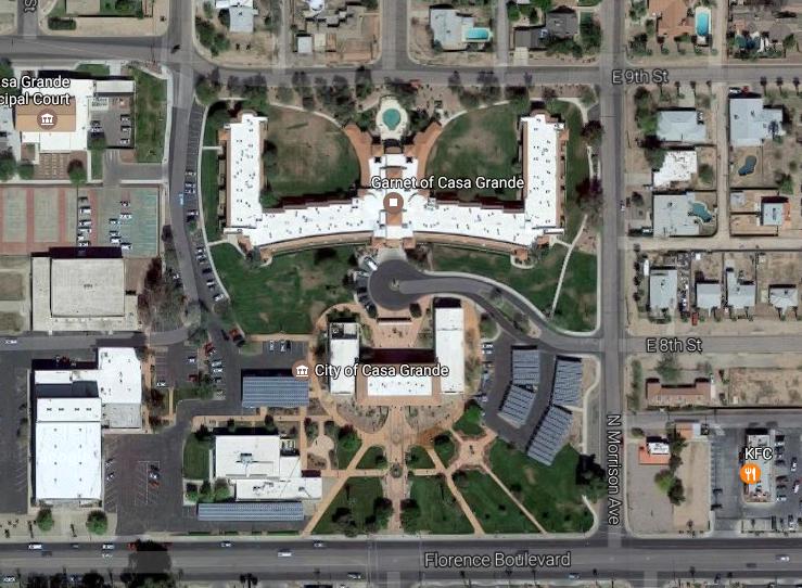 Explore the site on Google maps