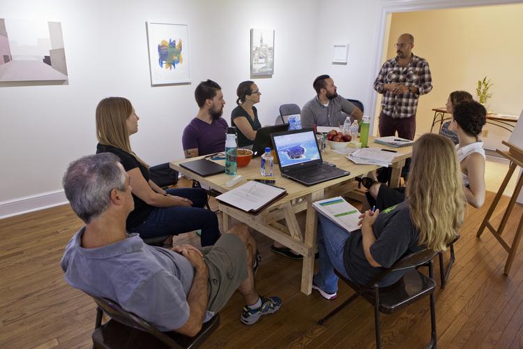A gathering at Paul ArtSpace (Source:  Paul ArtSpace )