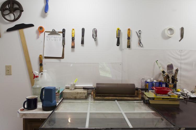 Printmaking studio (Source: Paul ArtSpace)