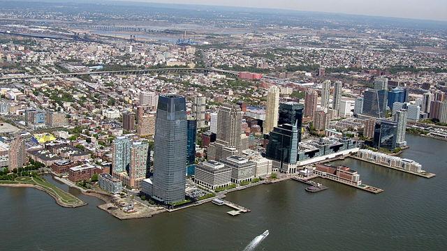 Jersey City. (Source:  David Jones )
