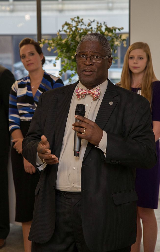 """Mayor Sylvester """"Sly"""" James of Kansas City, MO is one of only a handful of African American mayors in America's largest cities. (Source:  BlindManEditing )"""