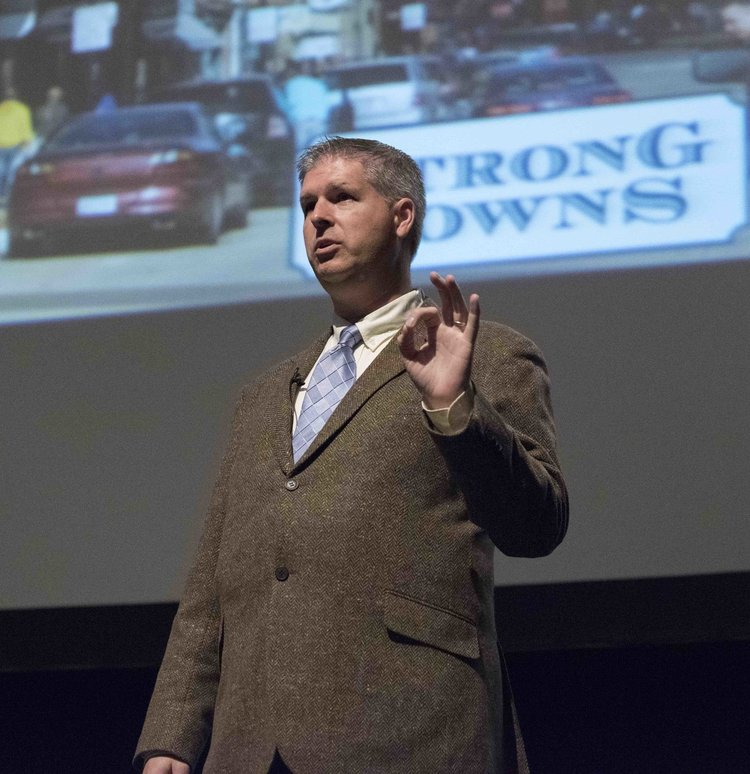 Charles Marohn, founder of Strong Towns and speaker