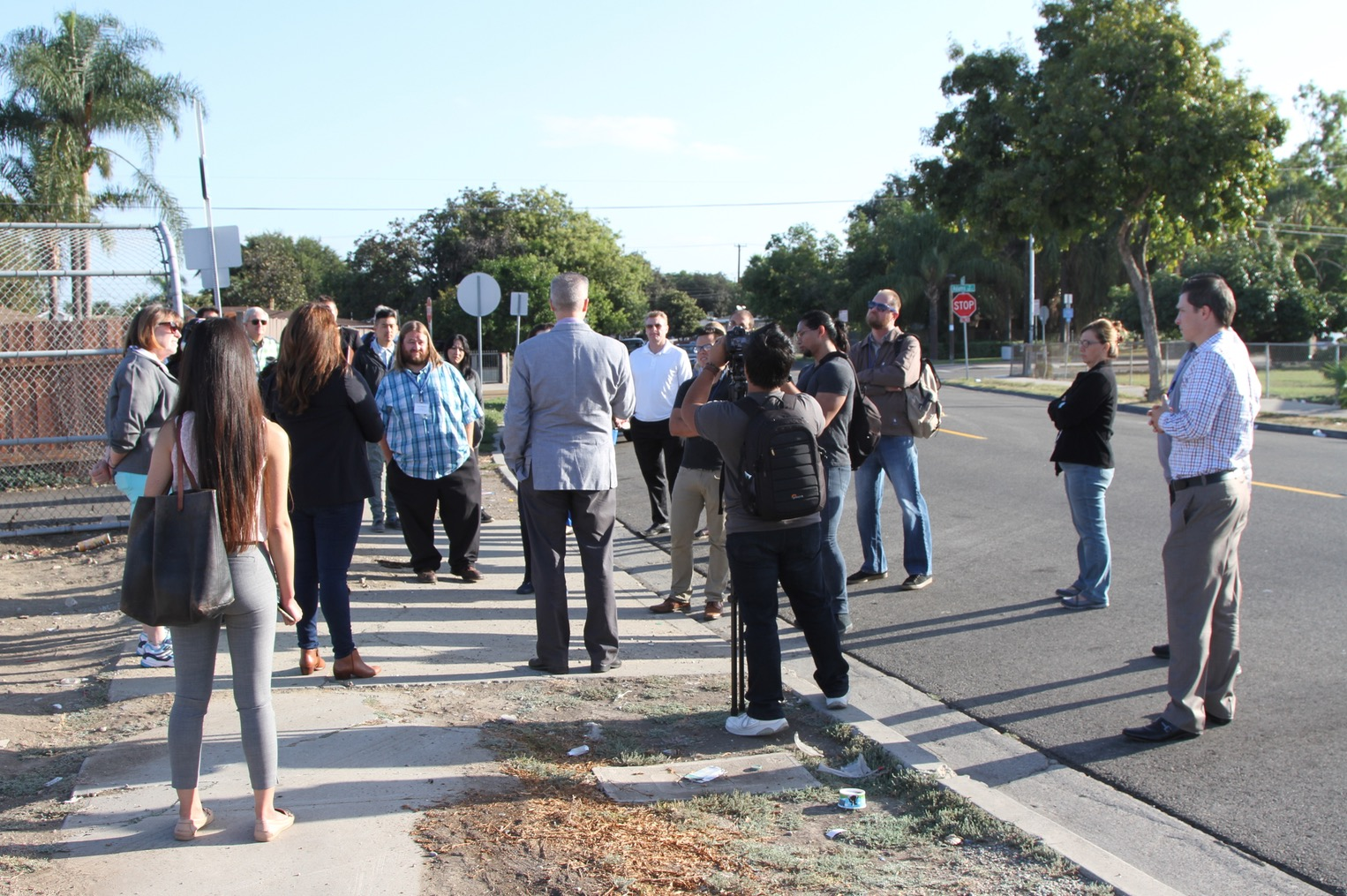 Strong Towns Walking Tour in action.