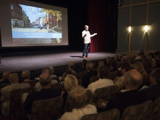 Chuck Marohn speaks at CivicCon