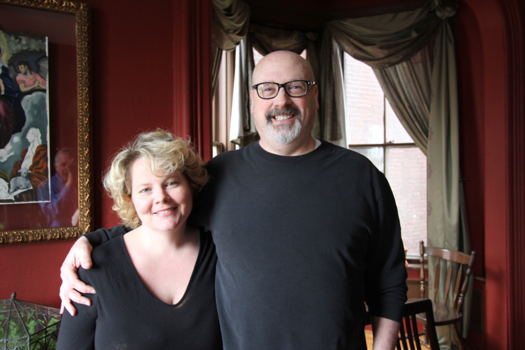 Steve Shultis and his wife, Liz (Source: Johnny Sanphillippo)