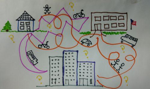 The maze of school transportation.
