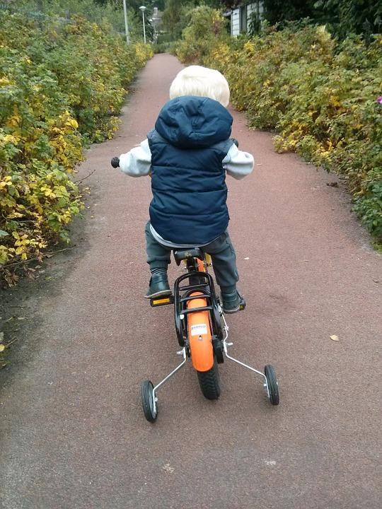 So few children bike or walk to school these days.