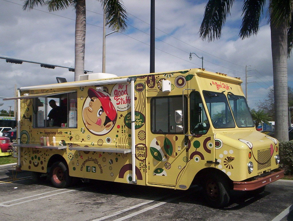 4. Food Truck Parking - Empower local businesses and activate unused space.