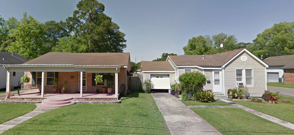 Homes in Lafayette (Source: Google Maps)