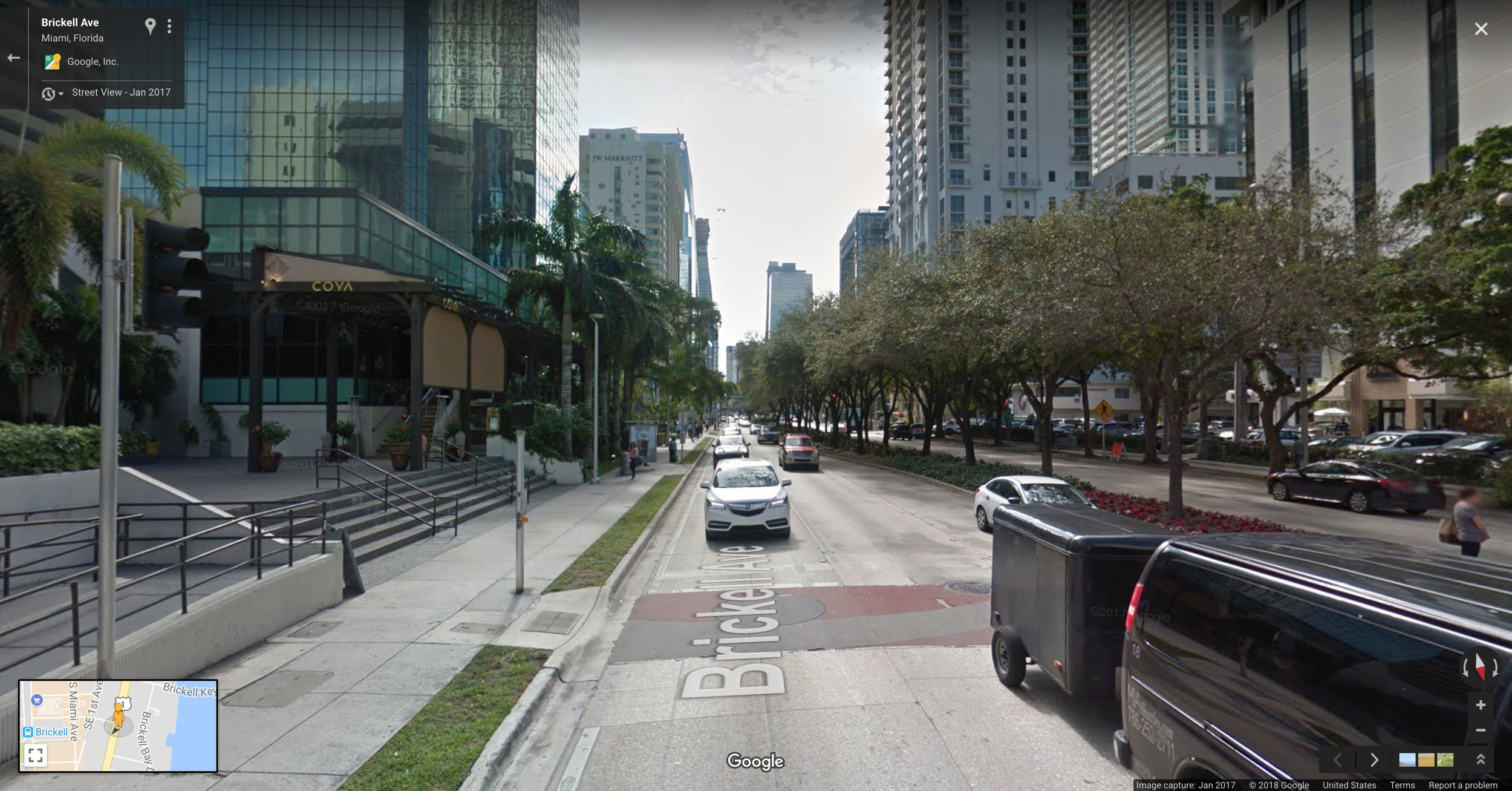 What 27,302 people per square mile looks like at street level.