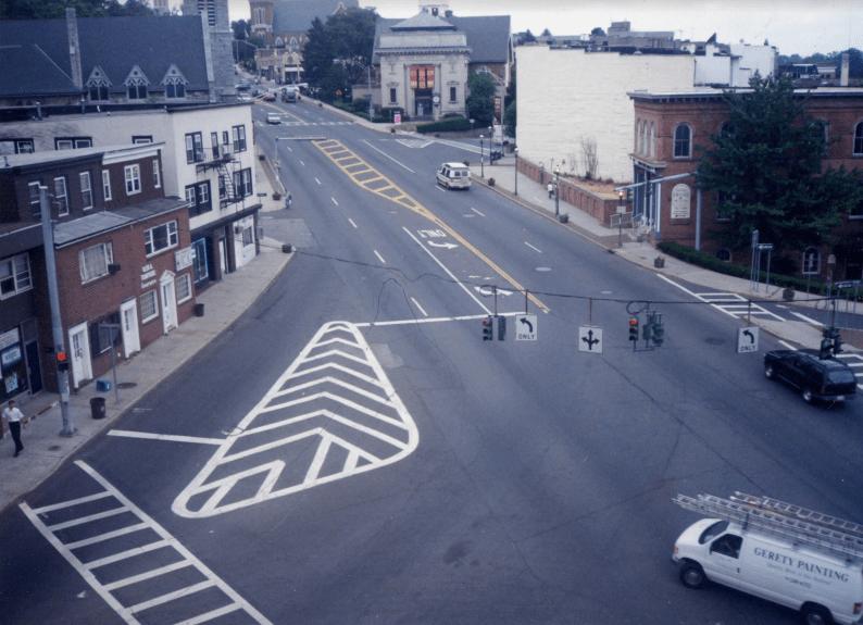 An aerial shot of Albany Post Road (Source: Lael Morgan)