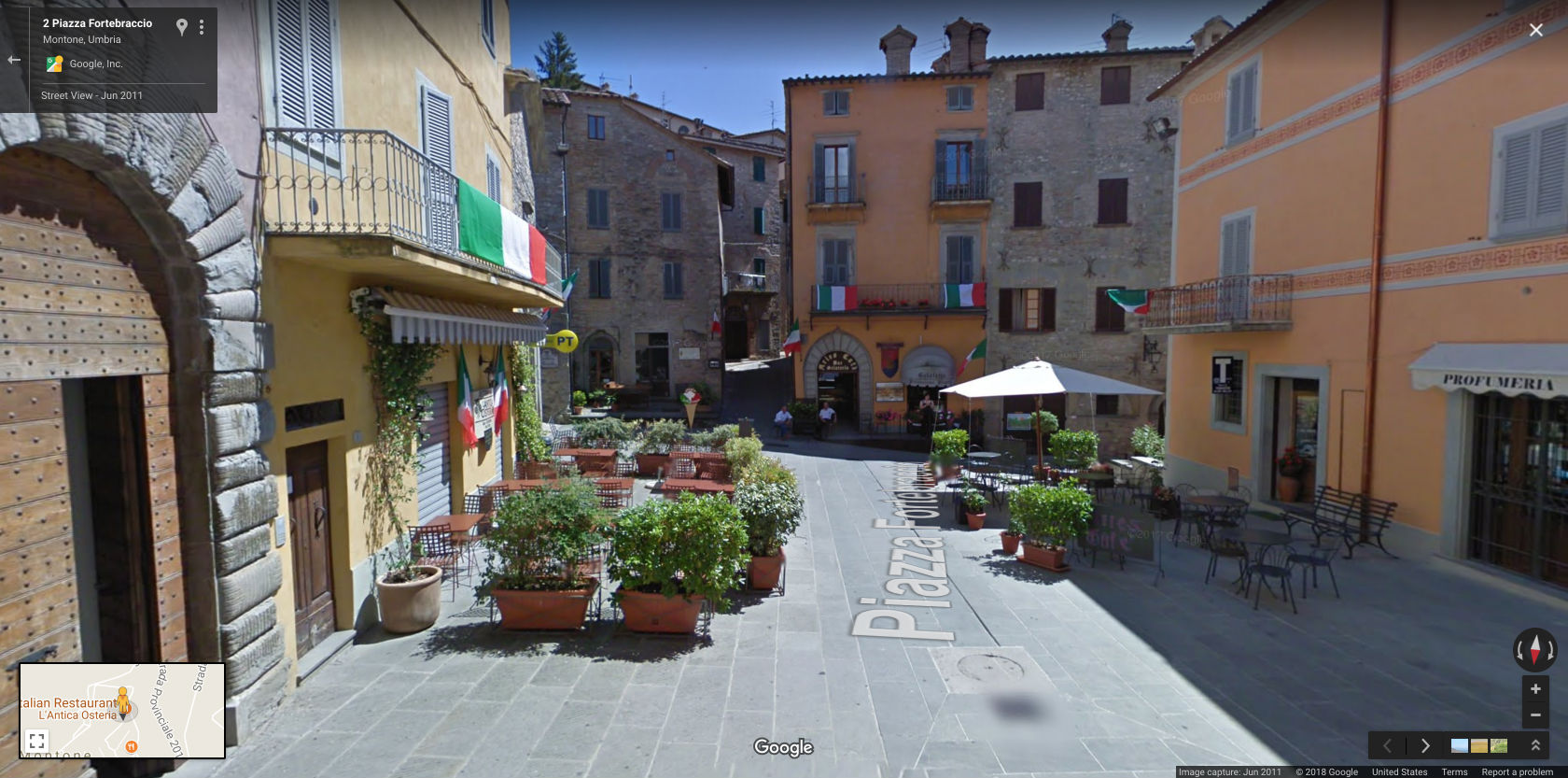 Streets of Montone. They didn't need expensive transit infrastructure to build this, so neither do you. (Source: Google Maps )