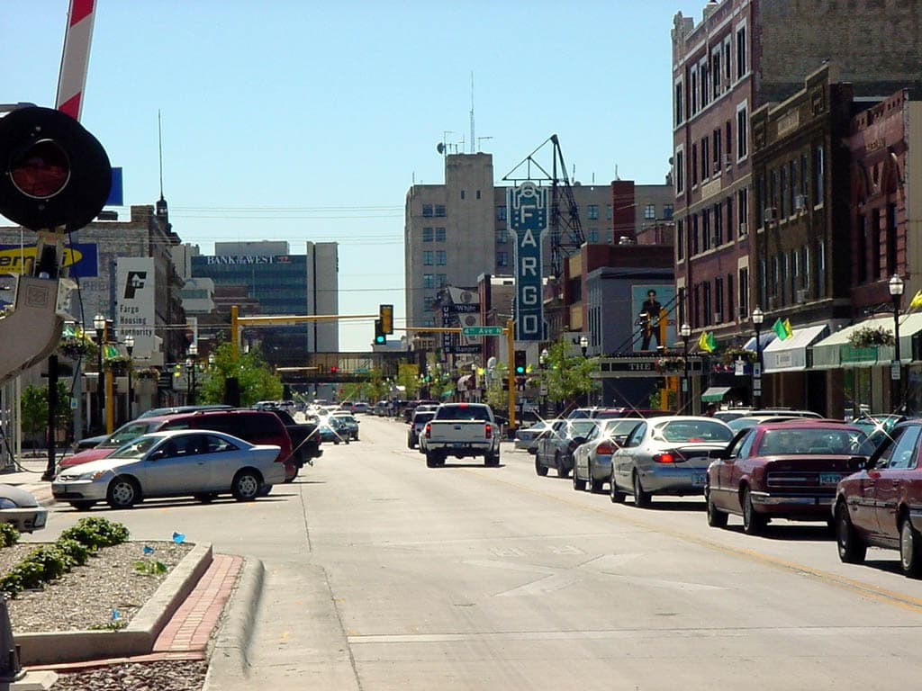 The view down Broadway (Source: Unimatic1140 )