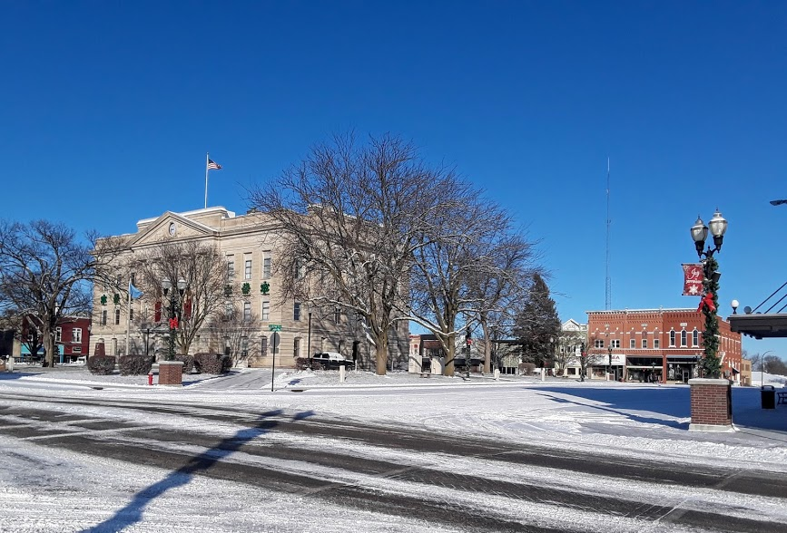 Jefferson's town square remains the center and focal point of the community