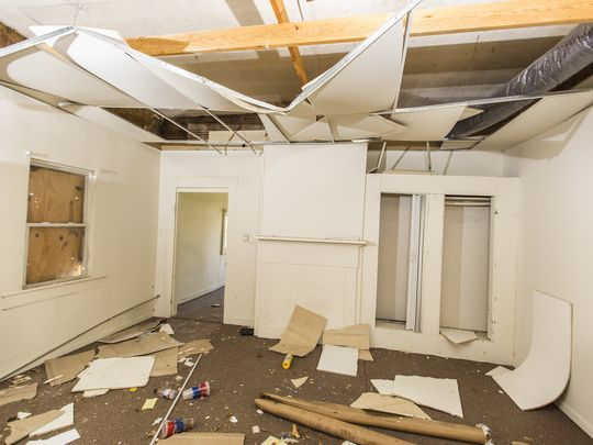 The interior of a home at 1837 Bank St. before renovation.(Photo: Courtesy Kertis Creative)