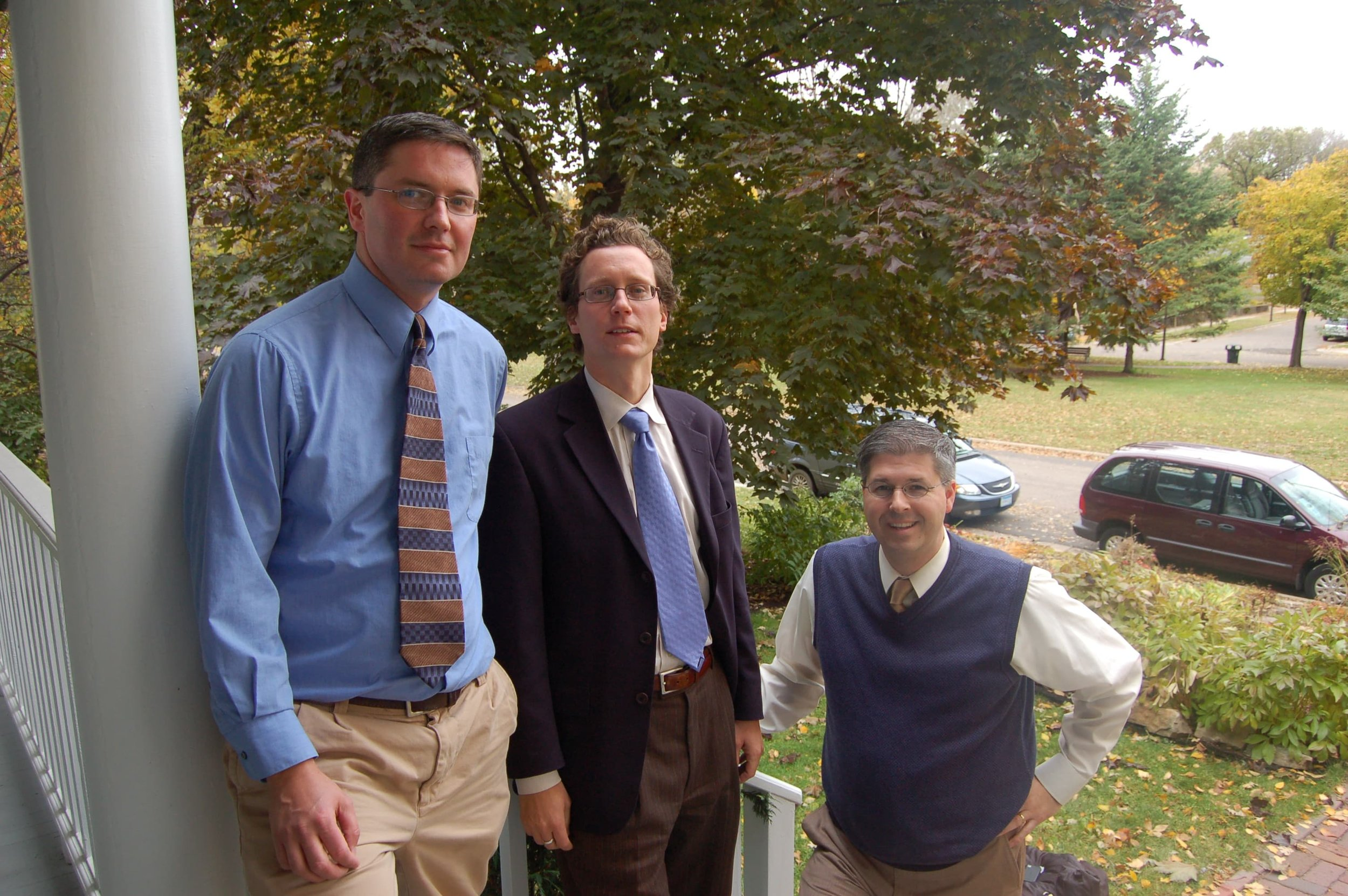 Ben Oleson, Jon Commers and Chuck Marohn — the original Strong Towns crew