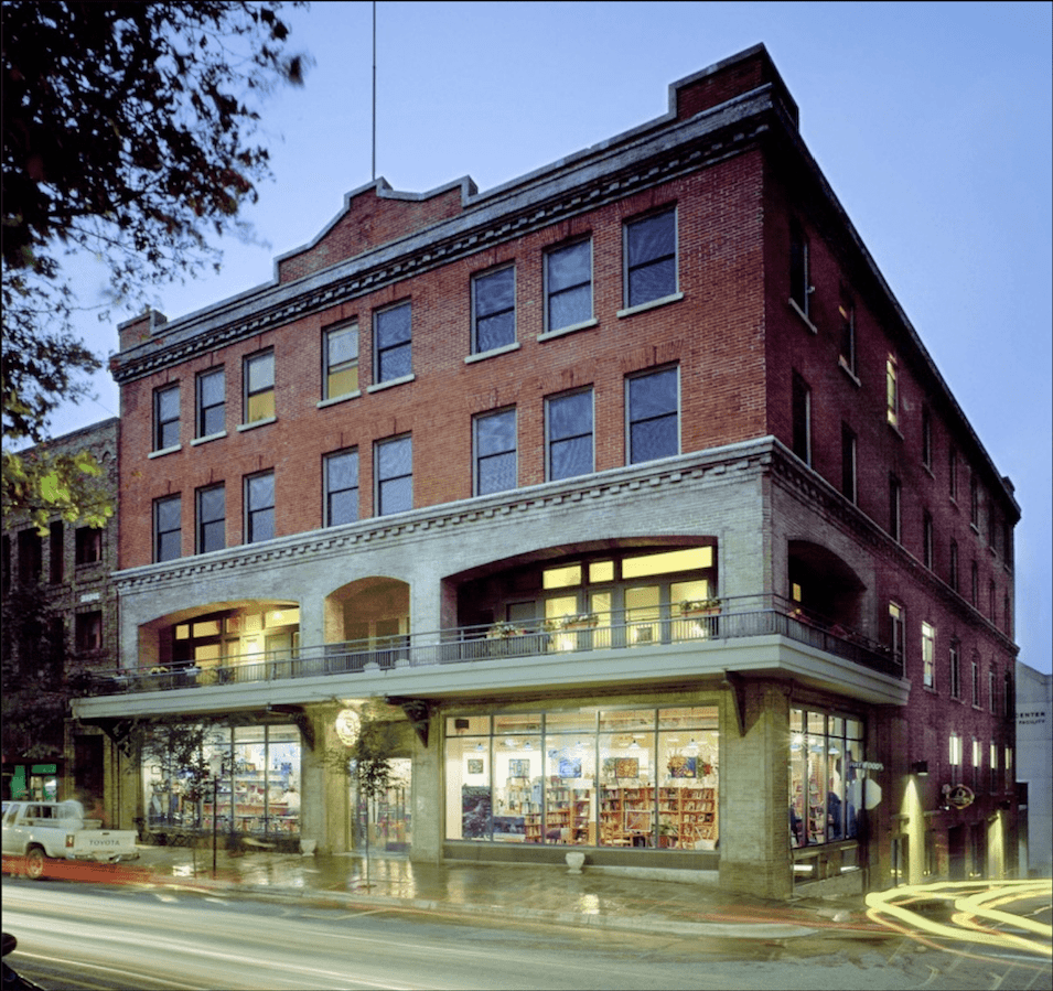 The renovated Asheville Hotel Apartments
