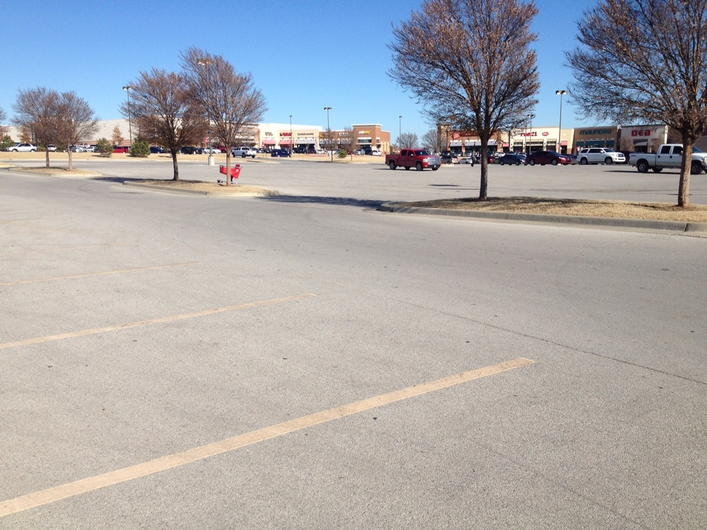6. Underused parking lots are one of the biggest problems with big box stores. -