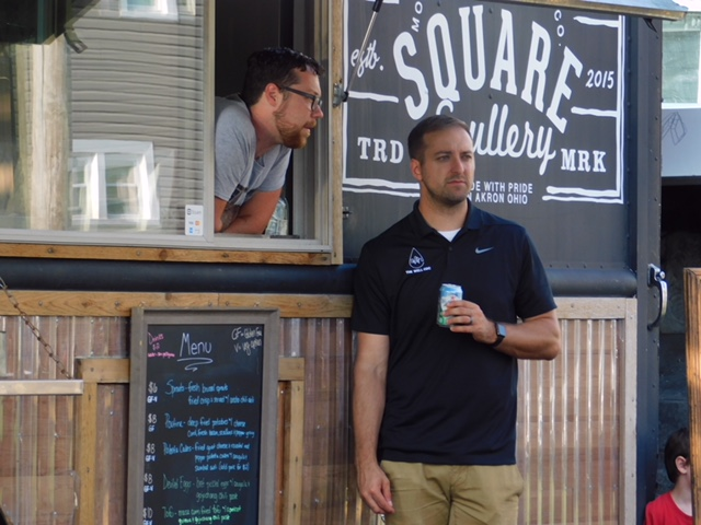 The Square Scullery, a popular food truck in Akron. (Photo: Tessa Skovira)