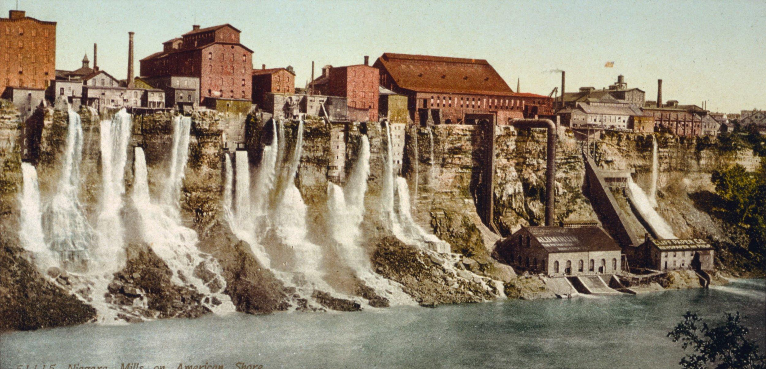 The Niagara Falls Mill District. (Source:  John Guthrie .)