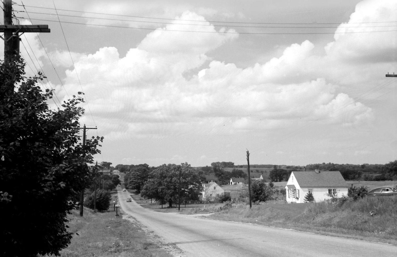 Alpine Road in 1949