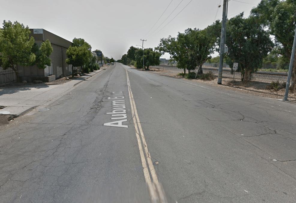 Empty road in Sacramento, CA