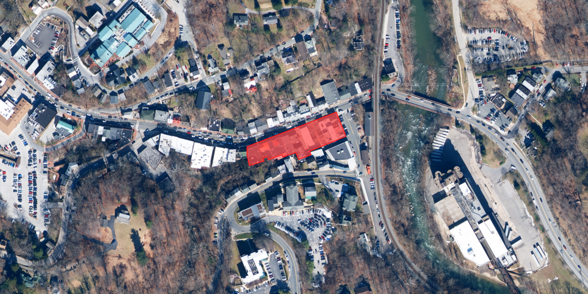 Under the current proposal, these buildings would be erased from the Ellicott City landscape.