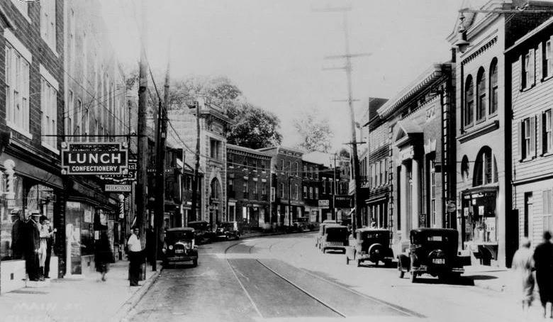 Ellicott City in earlier days.