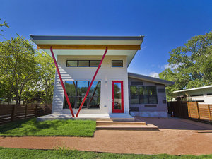 A duplex in South Austin by  Waterlily Homes