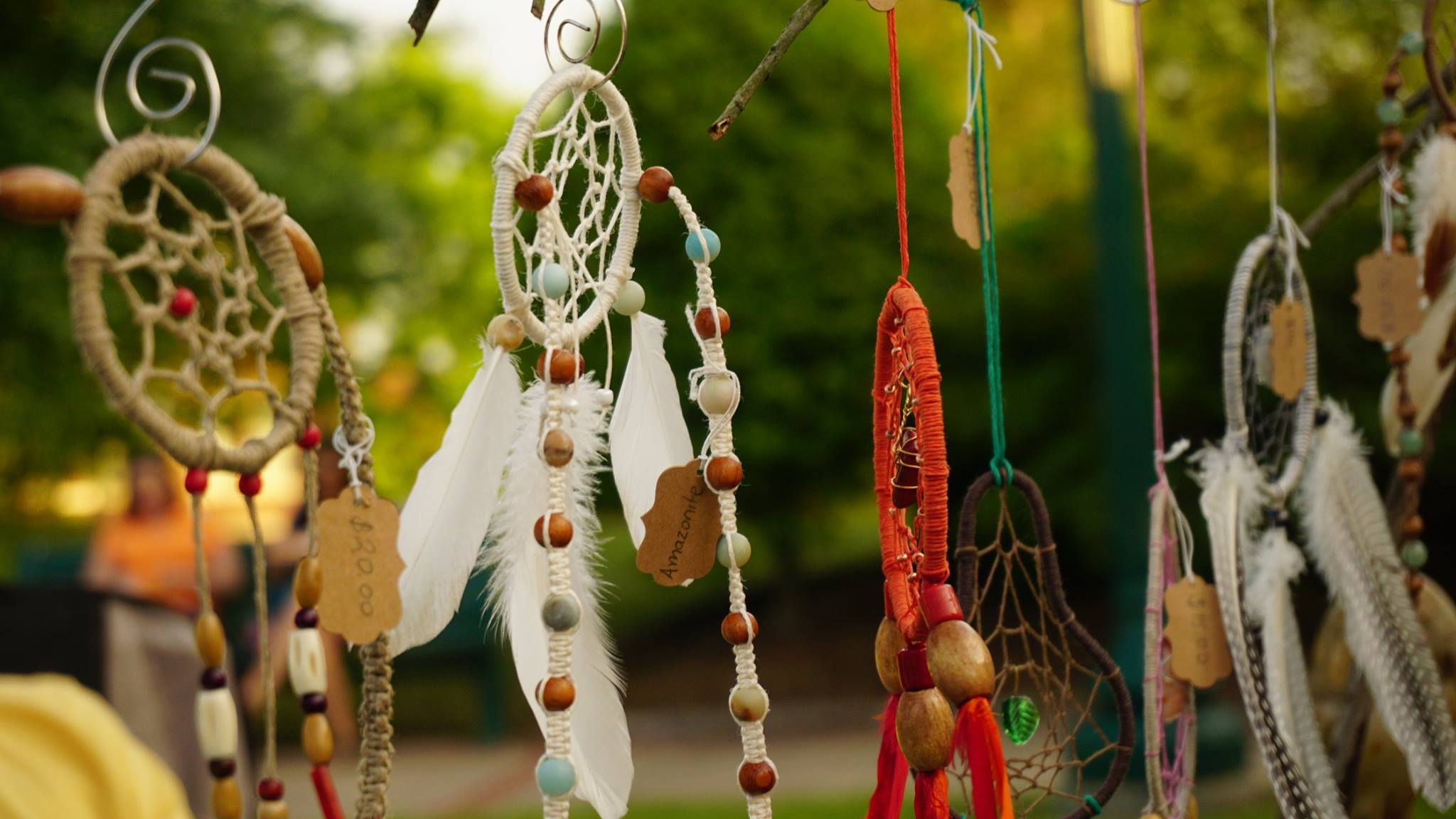 Dreamcatchers for sale at a downtown artisan market. (Source: 64.6 Downtown)