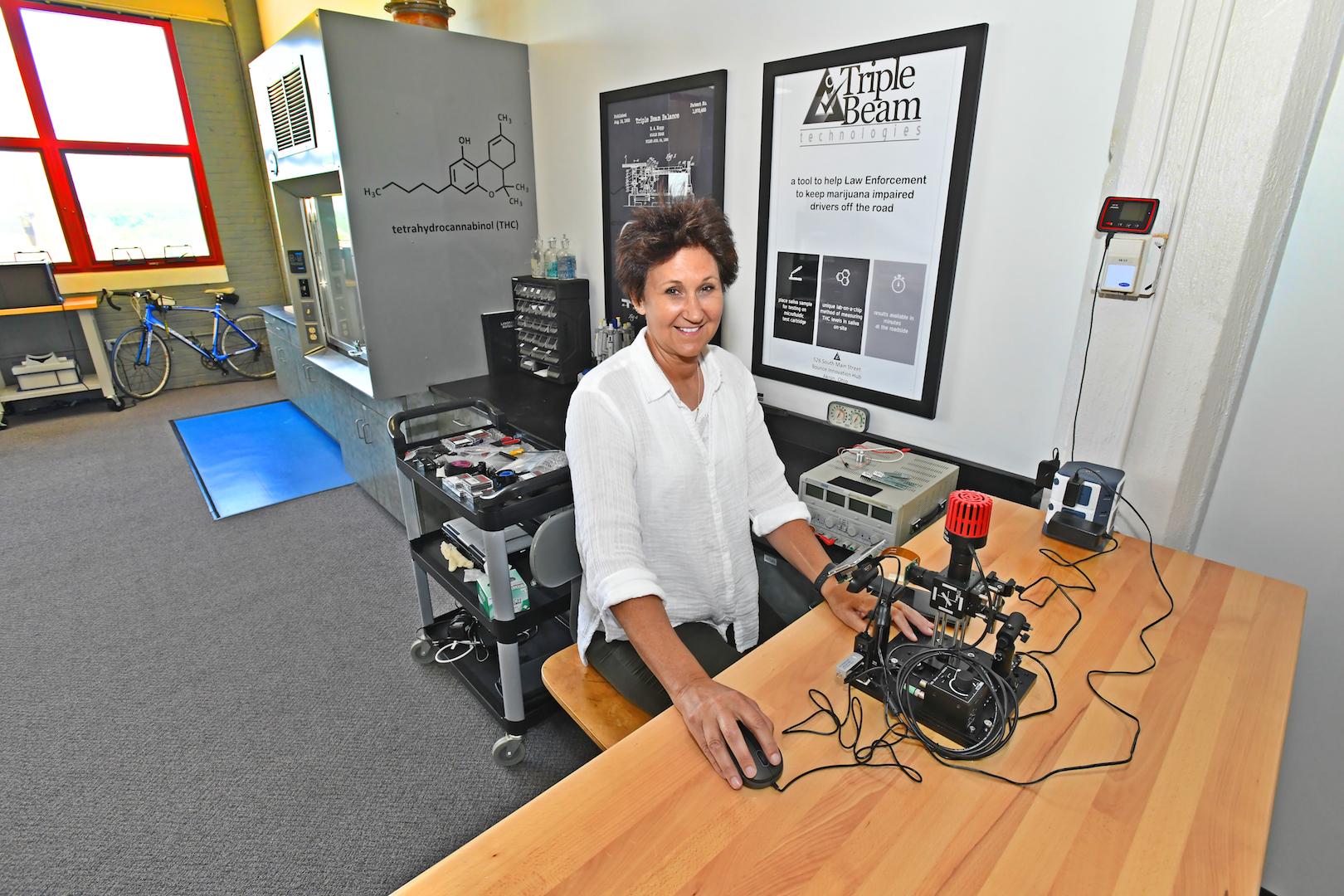 Kathleen Stitzlein of Triple Beam Technologies