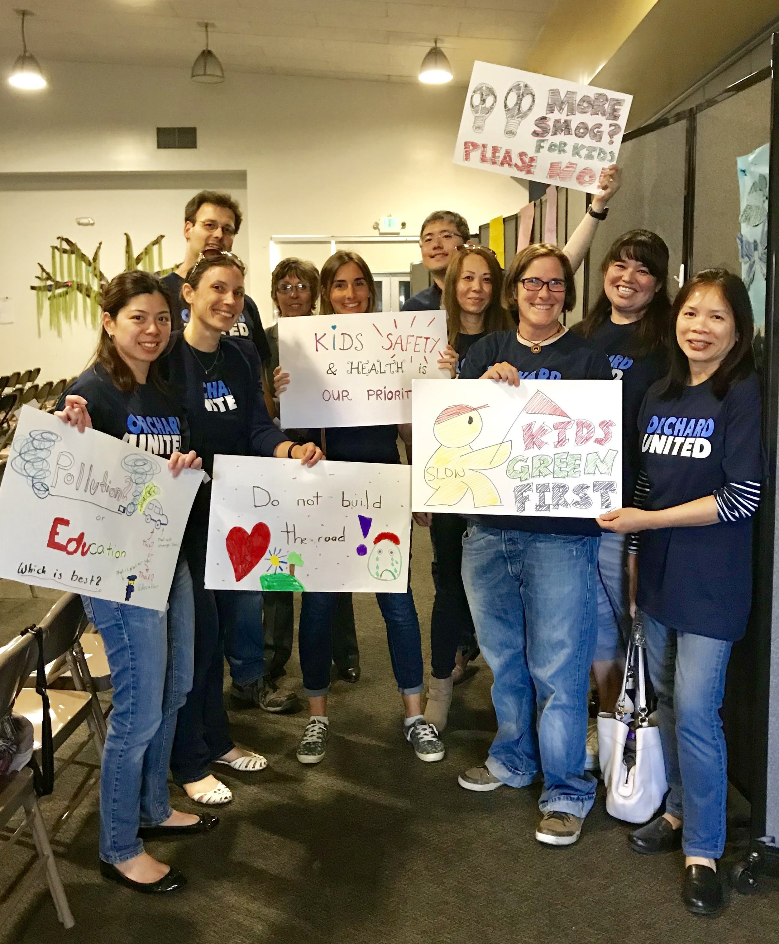 Parents and teachers united for a better solution