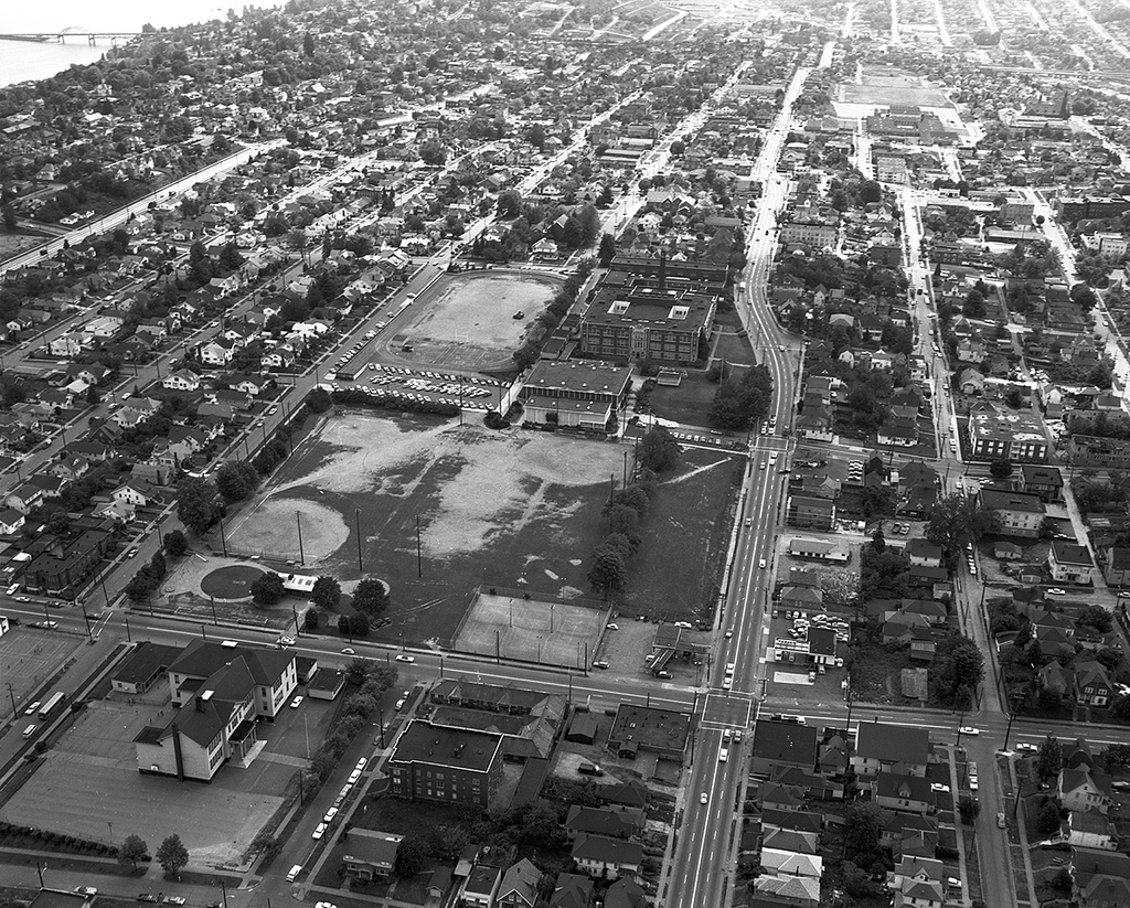 Seattle's Central District in 1968. (Source:  Seattle Municipal Archives )