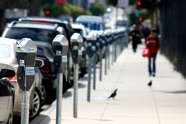 San Francisco has been a North American leader in instituting dynamically priced parking, where the price is adjusted based on demand to minimize cruising. (Image: Panchenks via  Flickr )
