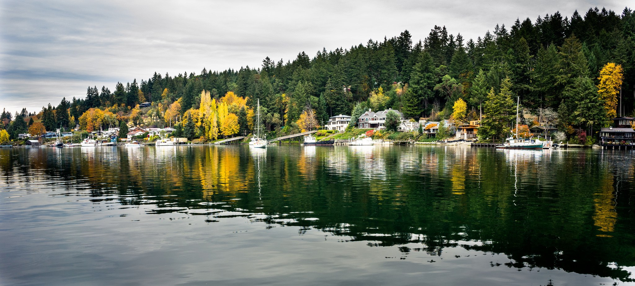 Waterfront homes in Gig Harbor (Photo by Tom Collins via  Flickr )