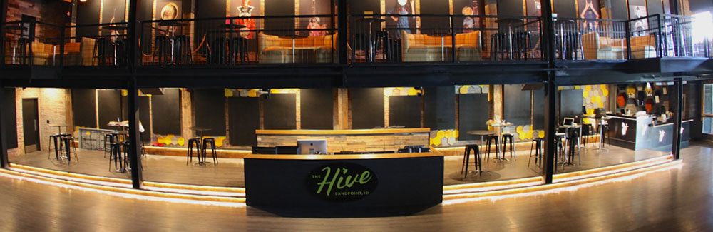 The Hive music venue after expansion.