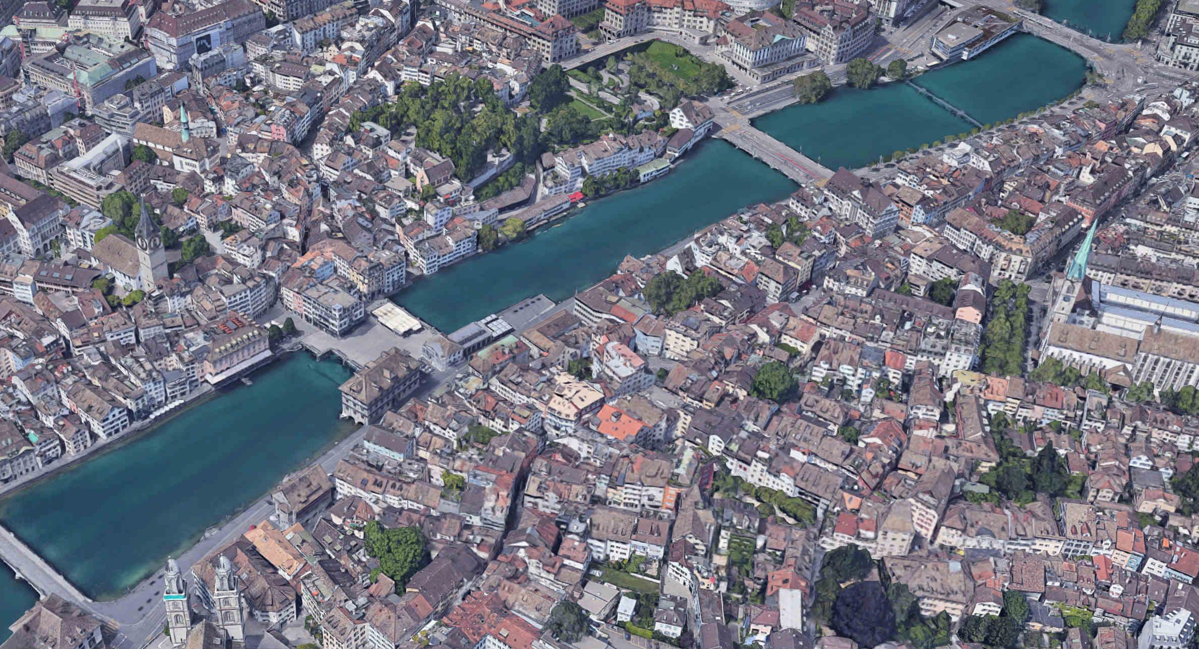 Zurich, Switzerland. ( Google Maps )