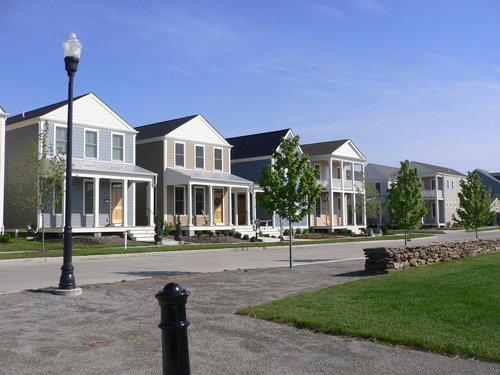 Traditional Neighborhood Development (TND) projects from 1980s–2000s