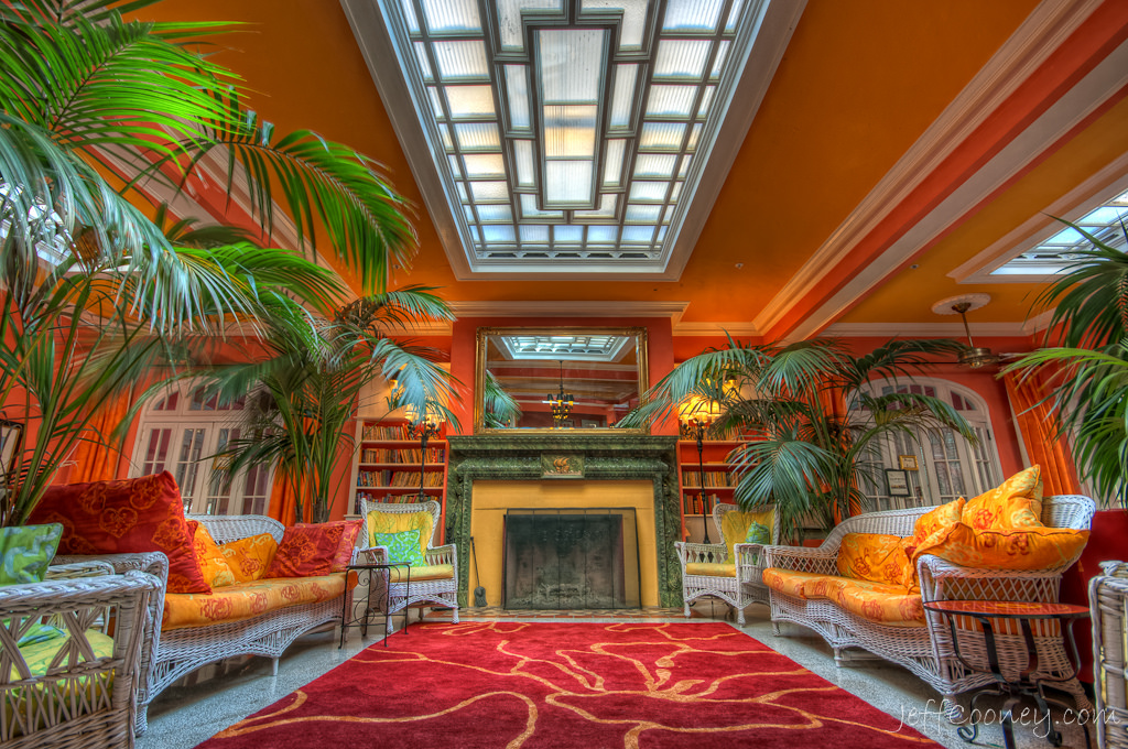Inside the Colony Hotel in Delray Beach. Photo: Jeff Cooney via Flickr