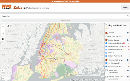 ZoLa, a product of    NYC Planning Labs   , is the gold standard when it comes to zoning map accessibility. (Click to view larger.)