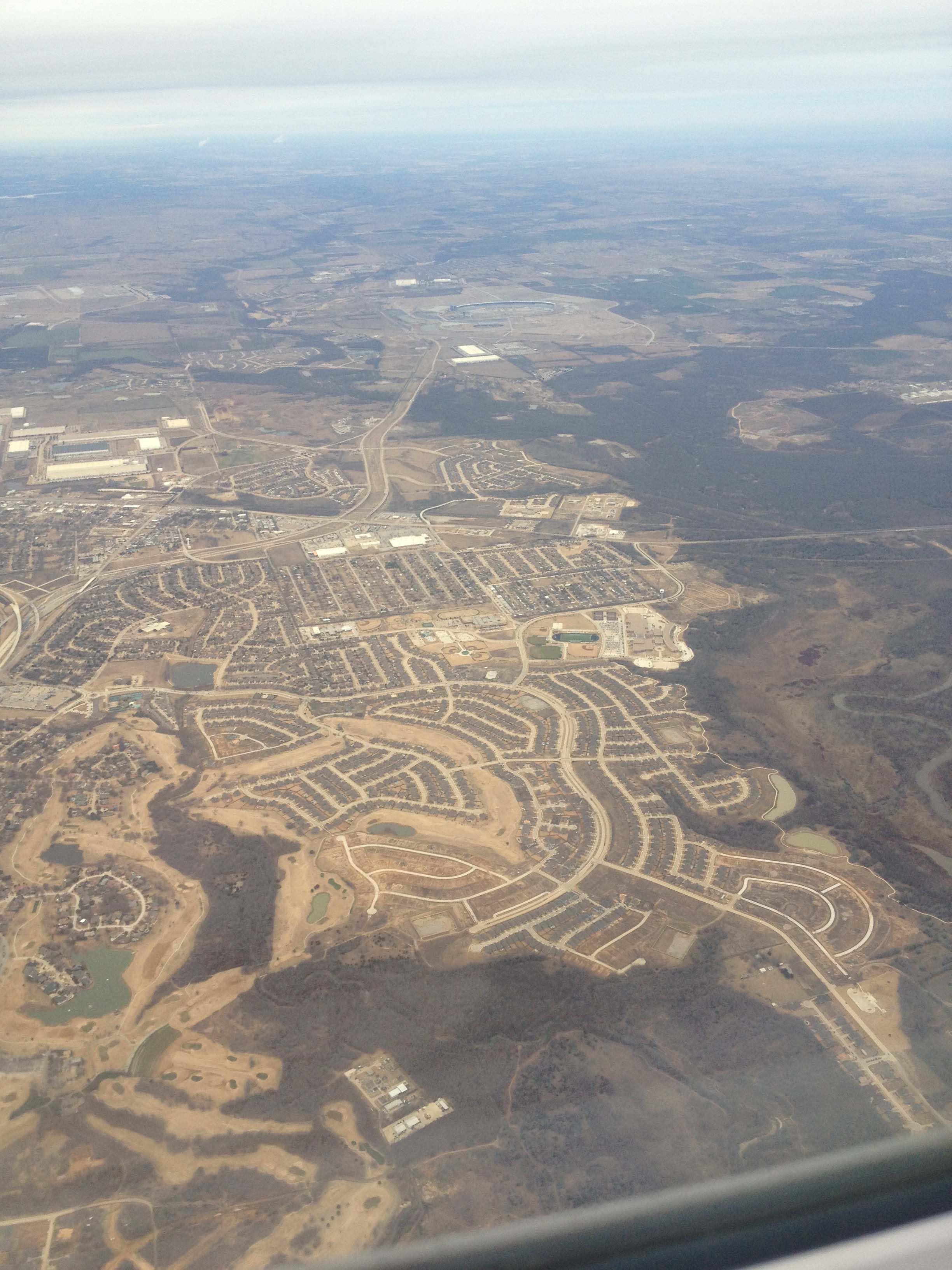 Suburban development in Texas (Wikimedia Commons)